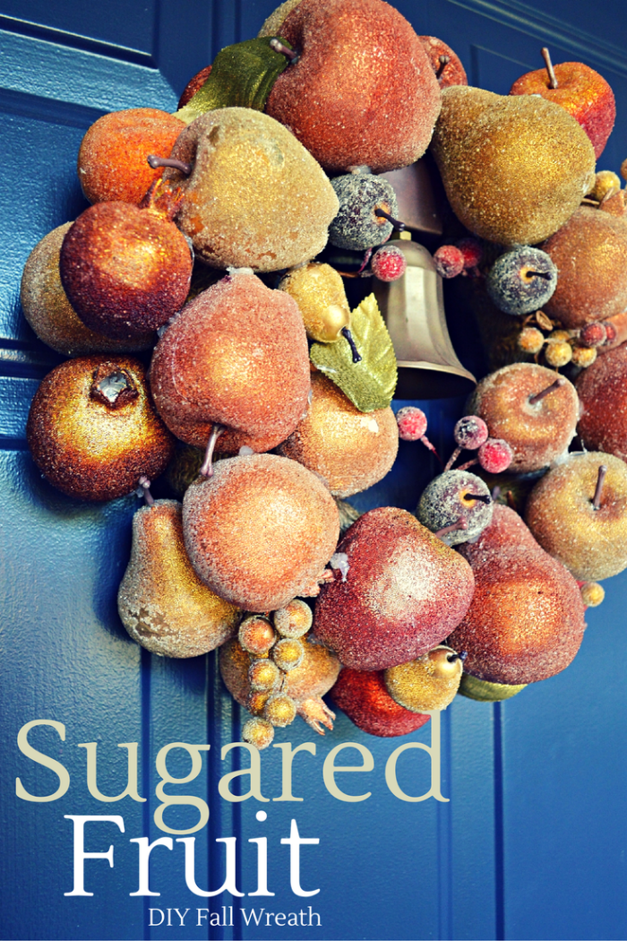 Sugared Fruit Fall Wreath Tutorial