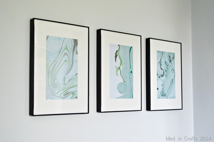 ... to share the ONE BIG SECRET to making any framed art look fancy