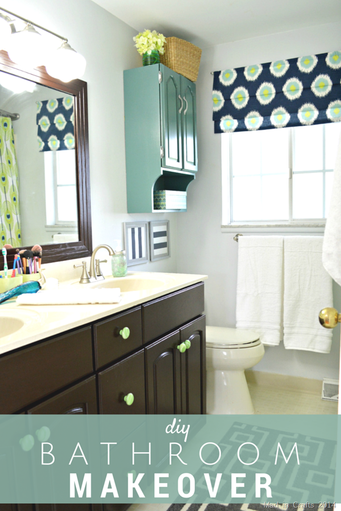 Bathroom Makeovers Cost easy bathroom makeovers. a simple inexpensive bathroom makeover