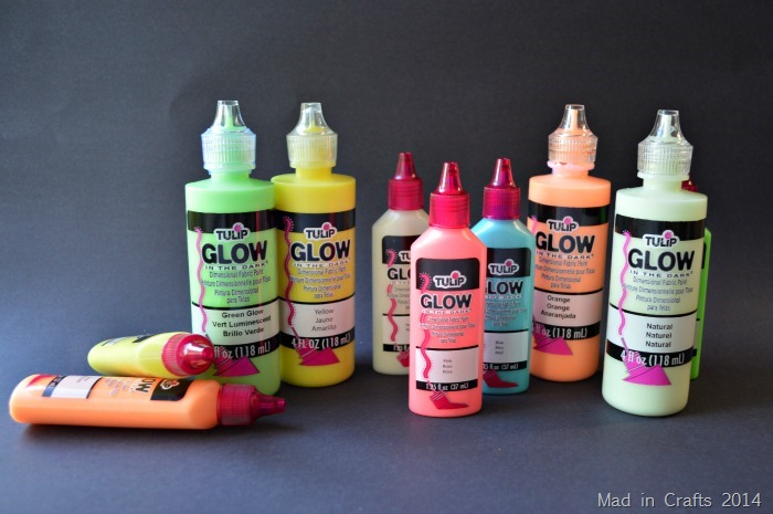 Tulip Glow in the Dark Fabric Paint