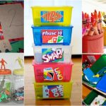 ORGANIZE YOUR KIDS' STUFF WITH ONE TRIP TO THE DOLLAR STORE