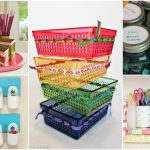 ORGANIZE YOUR OFFICE OR CRAFT SPACE WITH ONE TRIP TO THE DOLLAR STORE