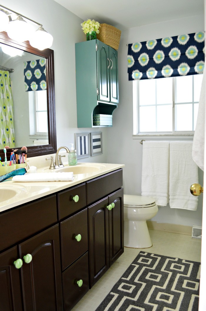 Bathroom Cabinets Painted painted bathroom cabinets. the average diy girlu0027s guide to