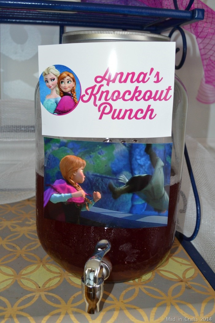 Frozen Birthday Party Punch