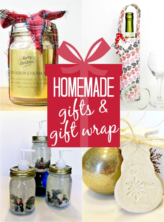 Homemade Gifts and Gift Wrap