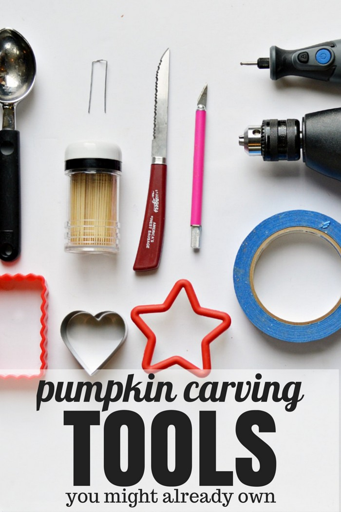 Pumpkin Carving Tools You Might Already Own