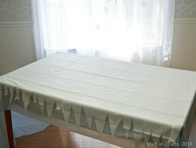 Layering A Frozen Party Table Mad In Crafts