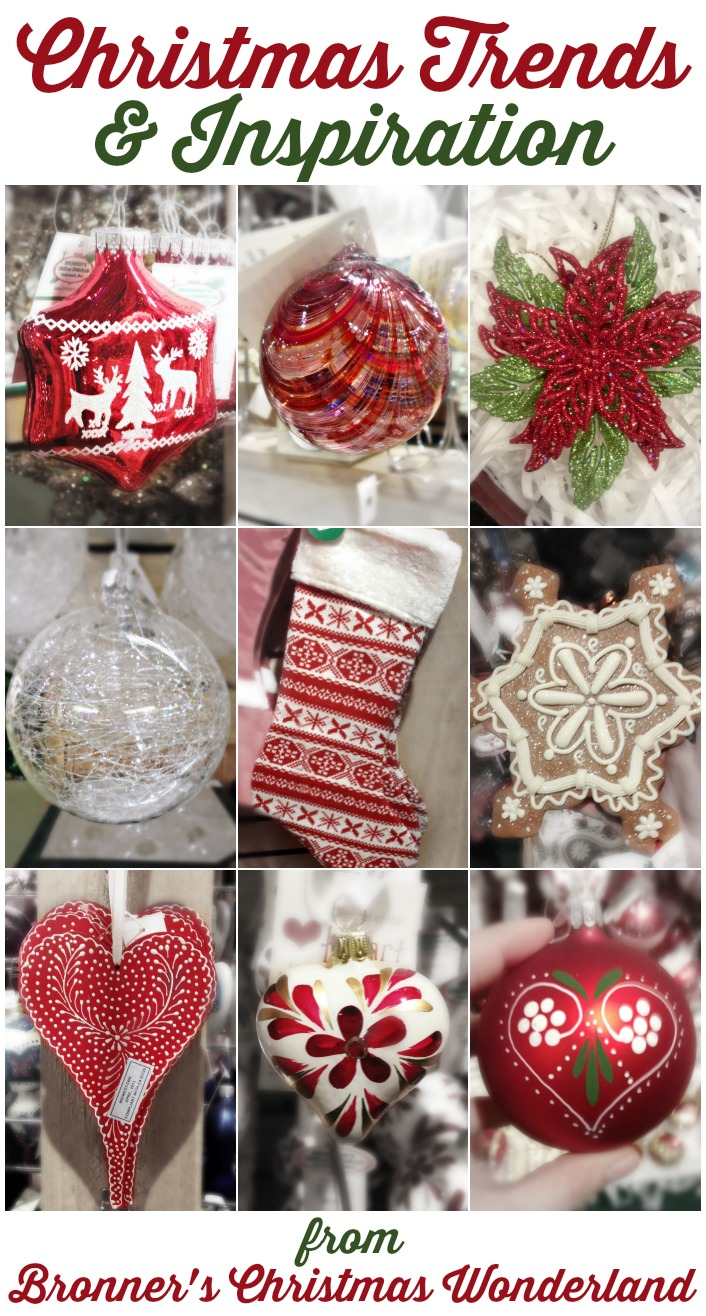 Christmas Trends and Inspiration from Bronners