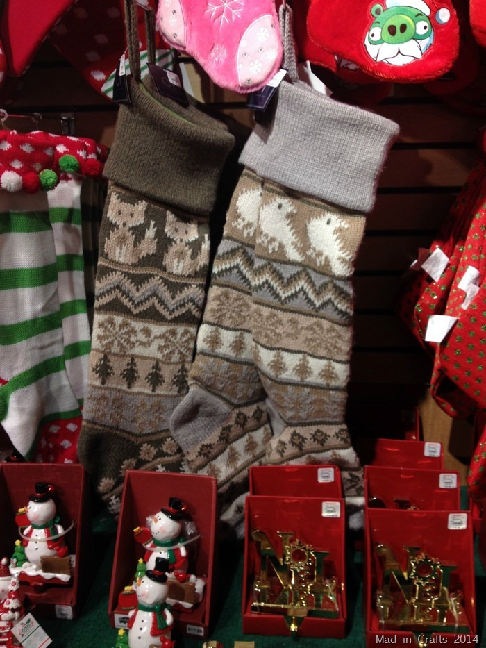 Christmas Woodland Stockings