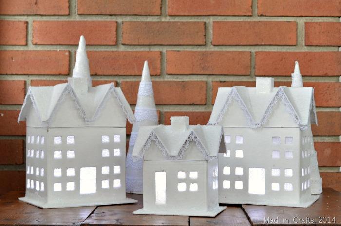 lit houses