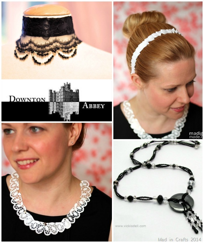 Downton Abbey Accessory Crafts