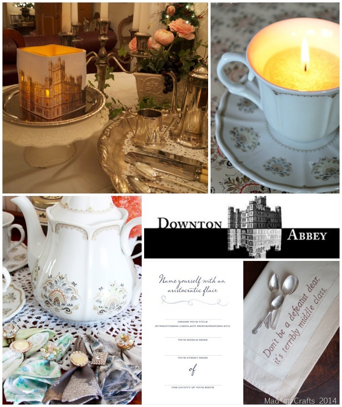 Downton Abbey Tea Party Ideas