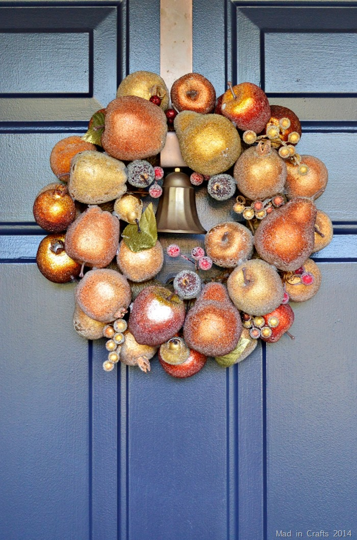 Fall Wreath  Hung Wreath   ForRent.com