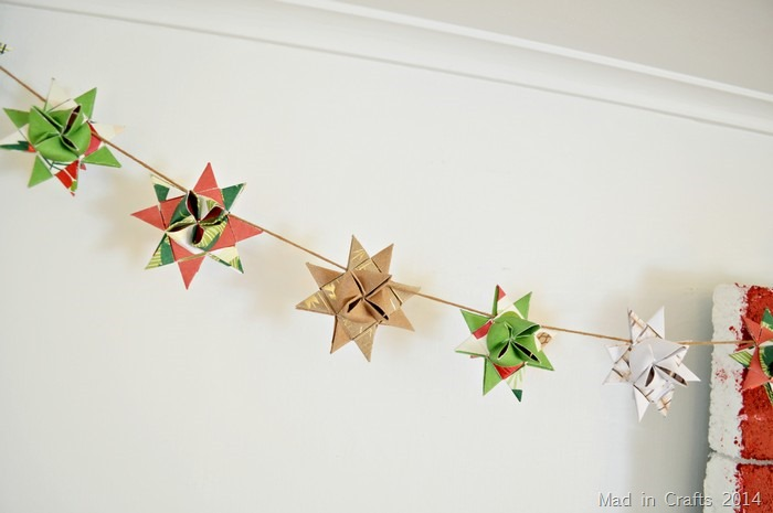 German Paper Star Garland