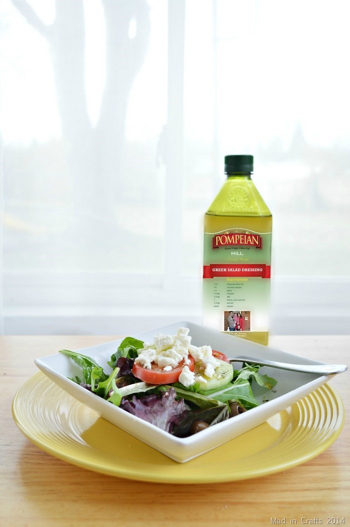 Greek Dressing With Pompeian