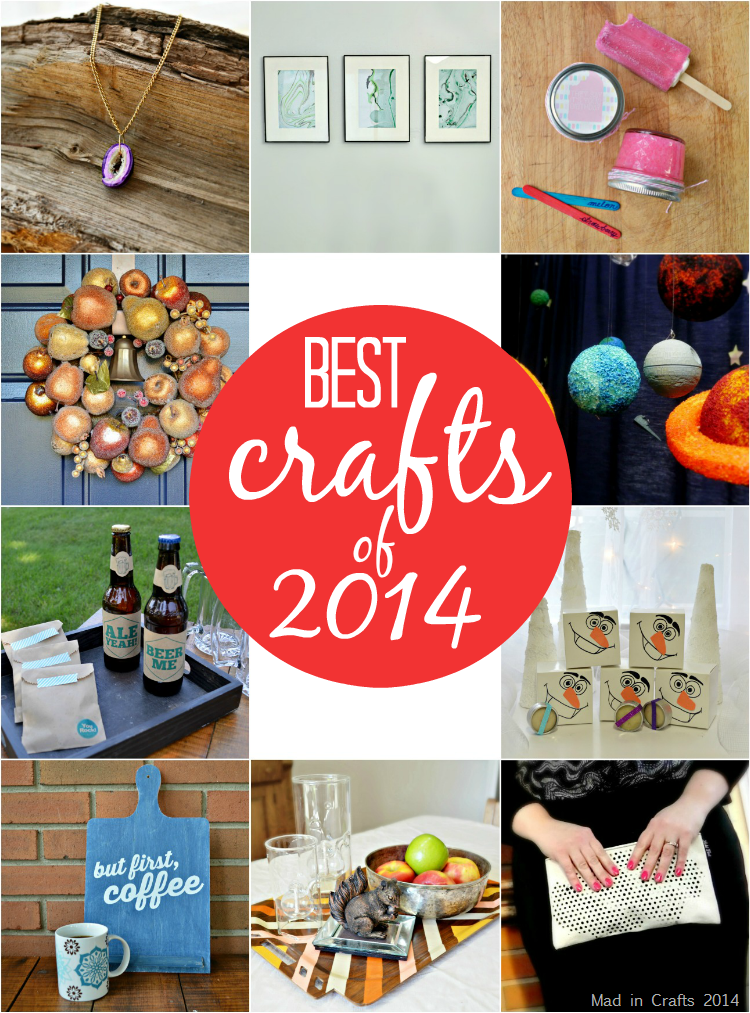 Mad in Crafts Best Crafts of 2014