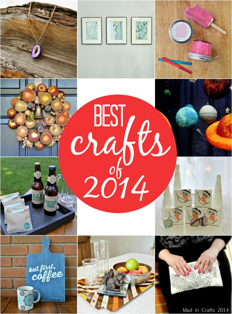 Mad in Crafts Best Crafts of 2014