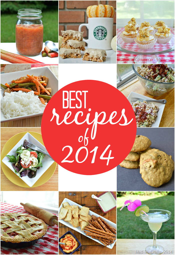 Mad in Crafts Best Recipes of 2014