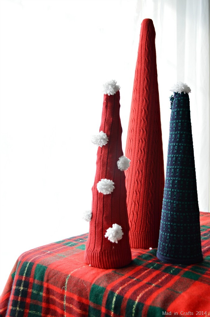 Sweater Cone Trees
