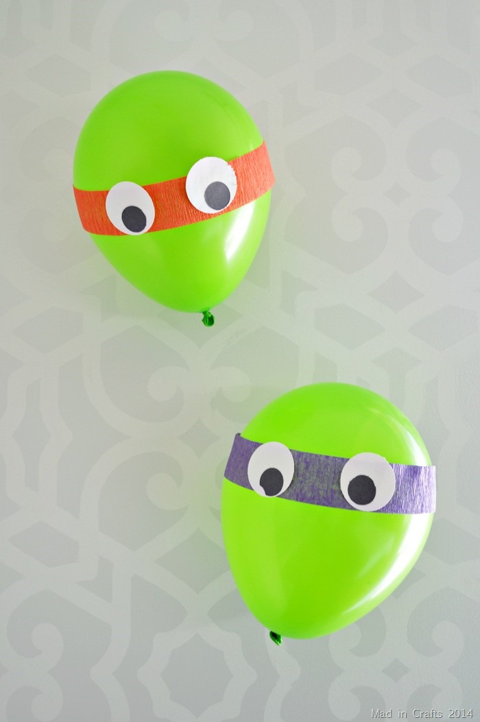 TMNT balloon decorations