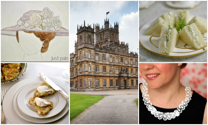 DOWNTON ABBEY CRAFTS AND PARTY IDEAS