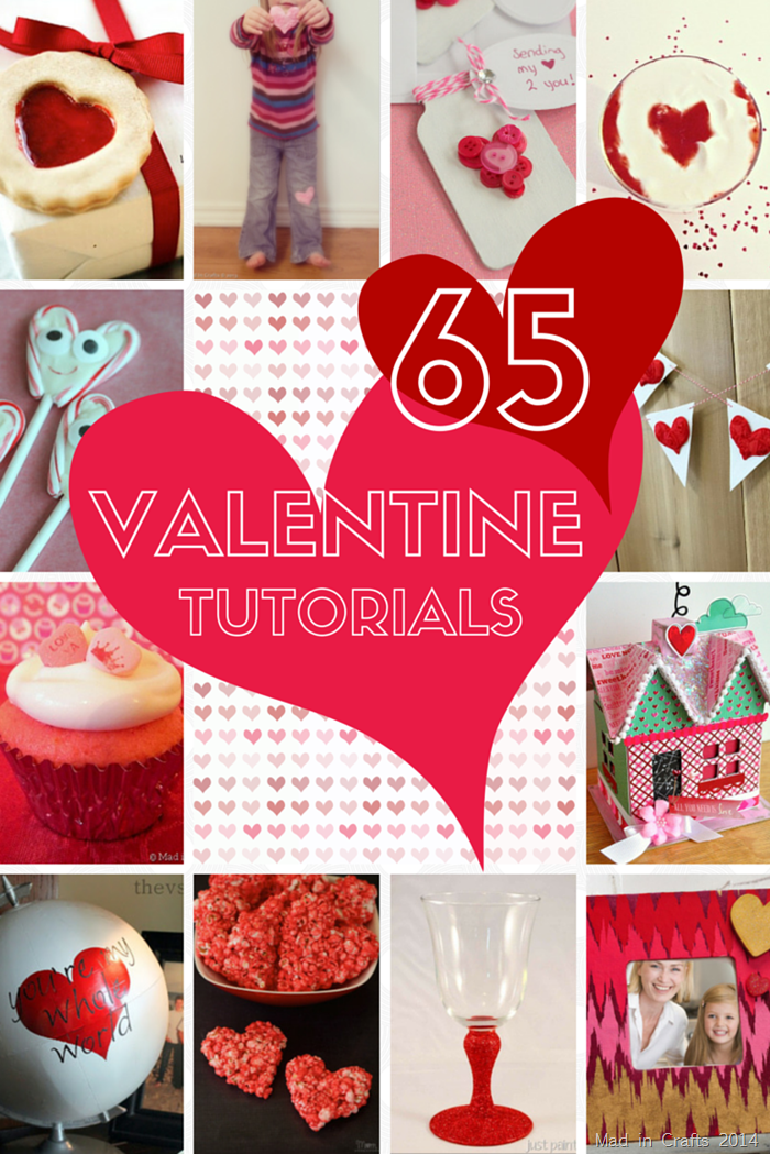 65 Valentine Tutorials