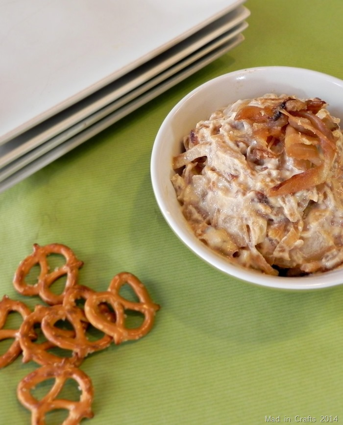 ... ONION DIP : All the flavor of traditional French Onion dip just