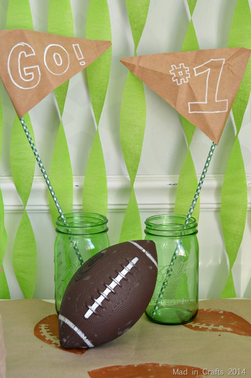 Super Bowl Centerpiece