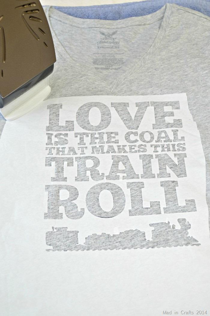 Valentines Freezer Paper Stencil