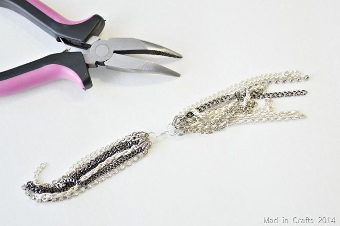 chains made into tassel