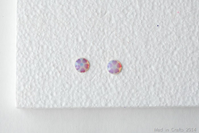 dimensional magic earrings