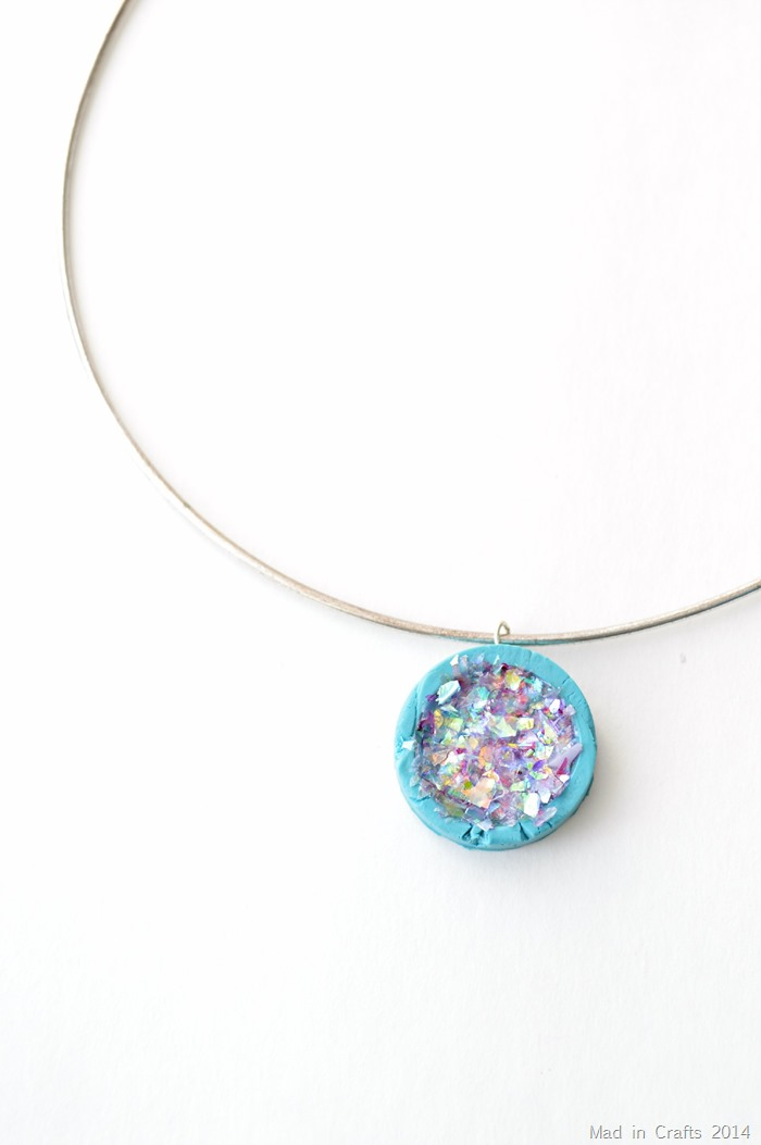 how to make faux druzy