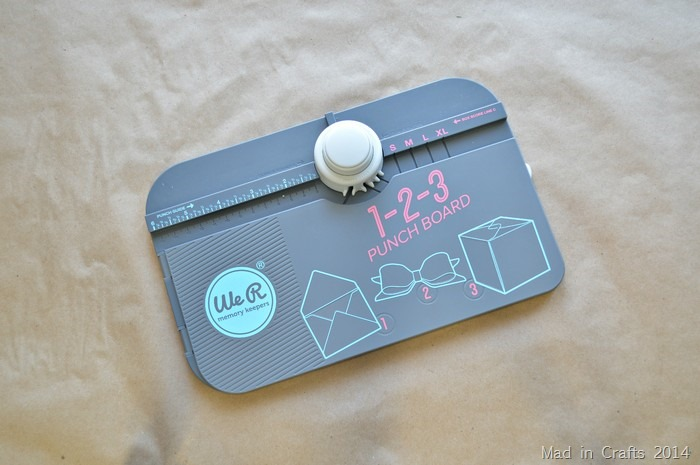 Memory Keepers 1-2-3 Punch Board
