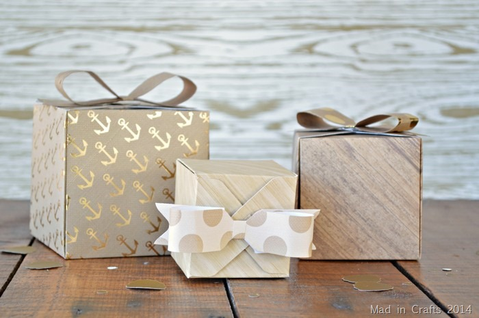 paper boxes and bows