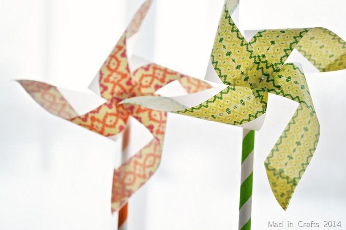 spring pinwheels