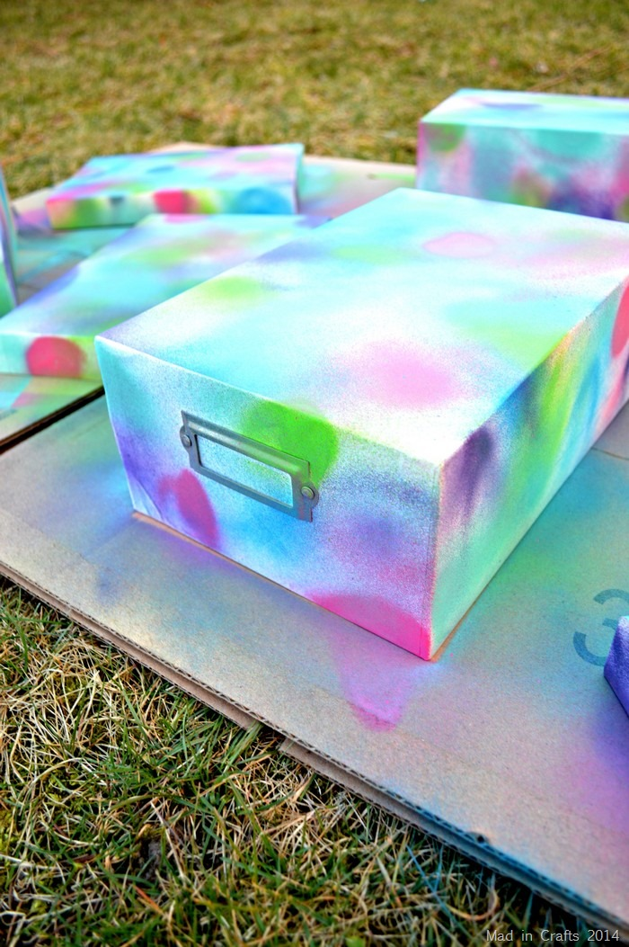 Plutonium Painted Boxes