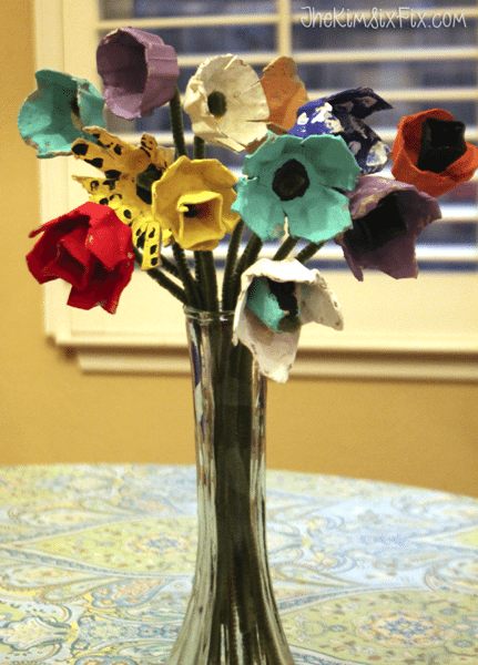 egg-carton-flower-bouquet