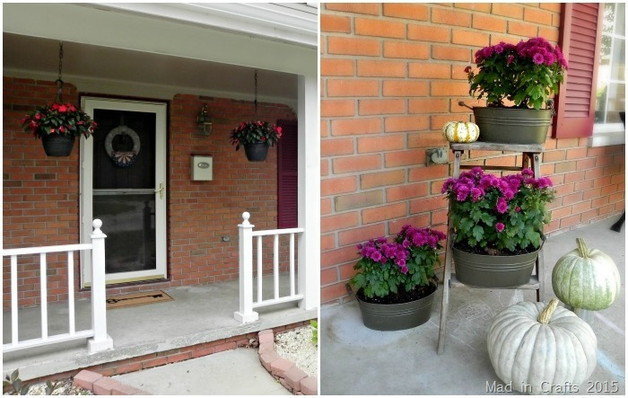 modern front planter covered porch white black home planters door photo with htm transitional