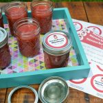 STRAWBERRY RHUBARB FREEZER JAM