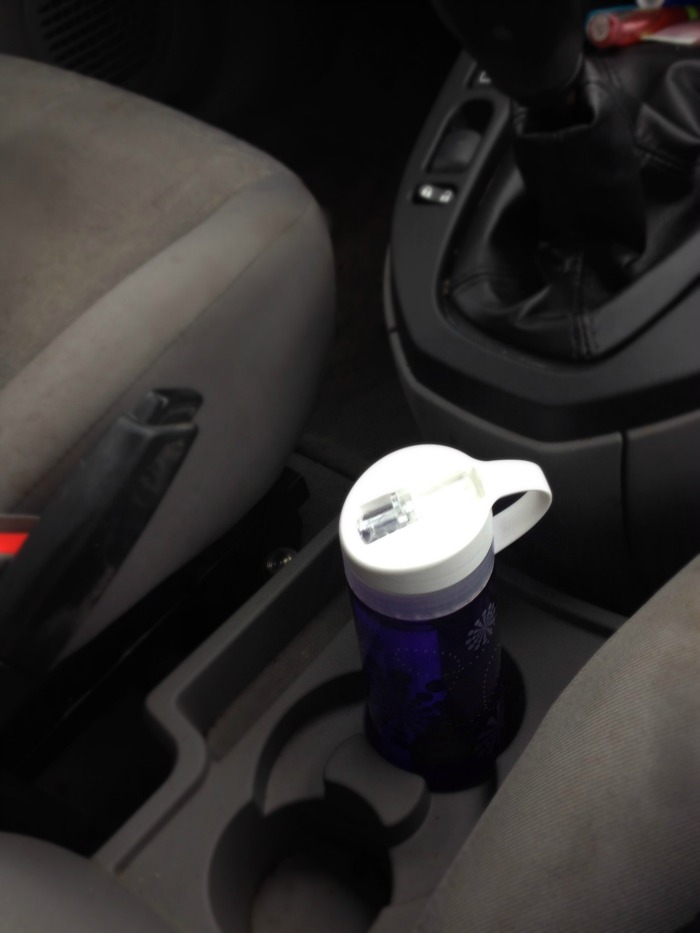 Brita Bottle in the car