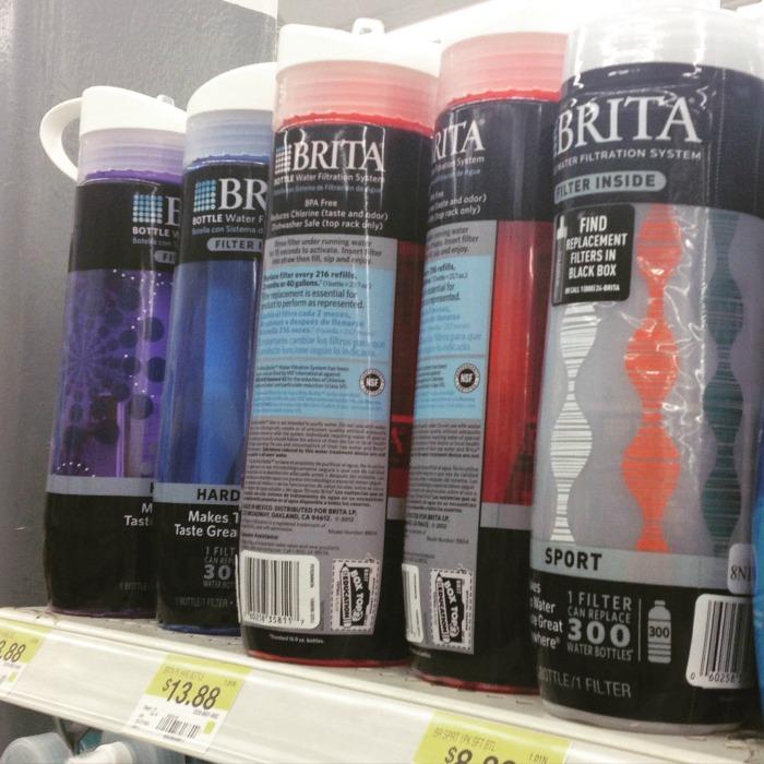 Brita Bottles at Walmart