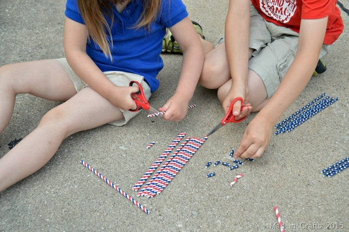 Cutting Straws into Beads