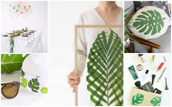 10 TRENDY TROPICAL PALM PROJECTS