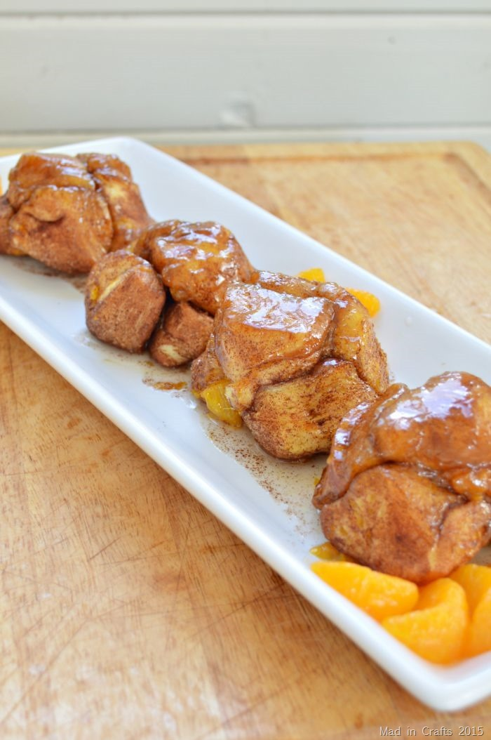 Mandarin Orange Monkey Bread Recipe