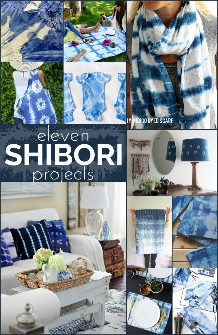11 Shibori Projects
