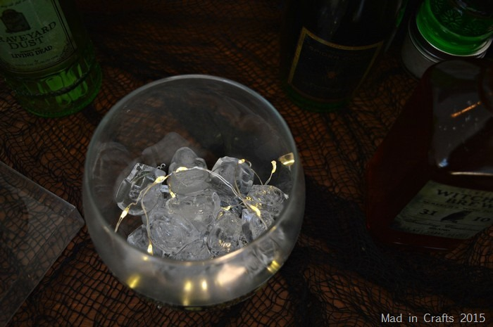 illuminated ice bucket