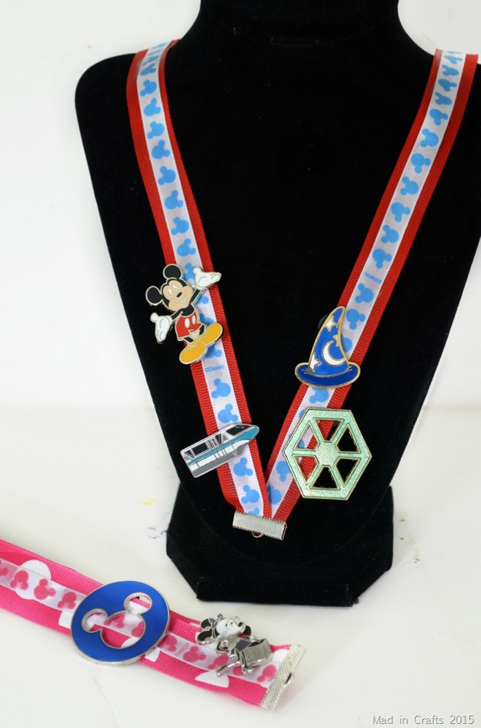 DIY Disney Lanyards