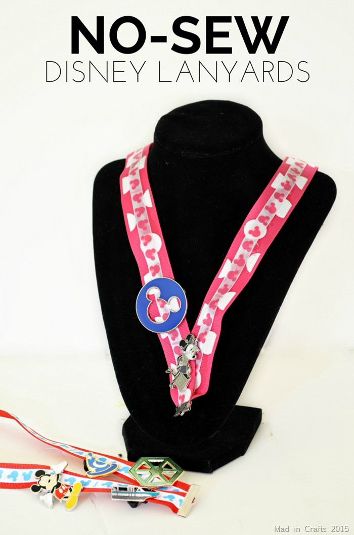 No Sew Disney Lanyard Tutorial