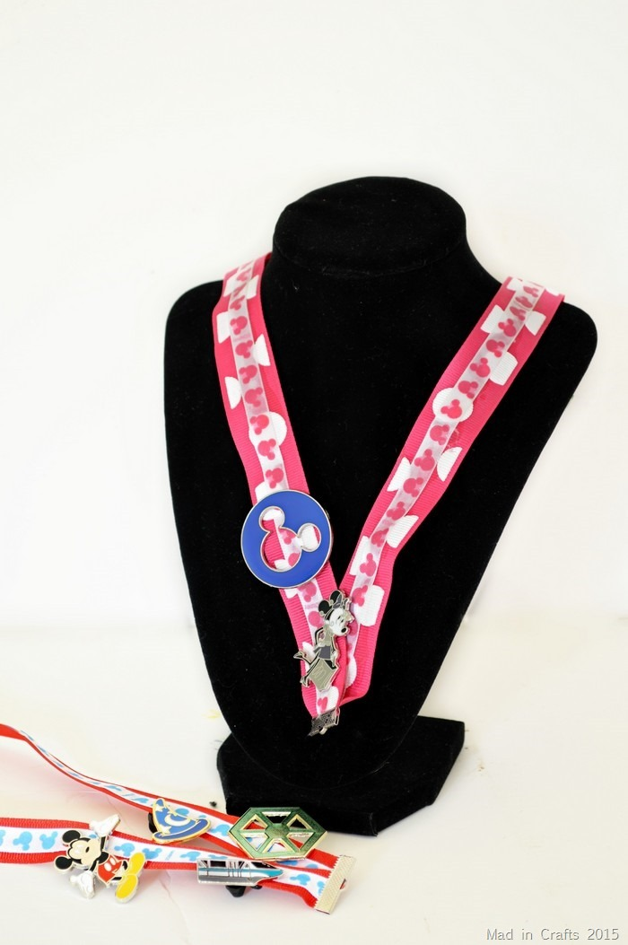 No Sew Disney Lanyard