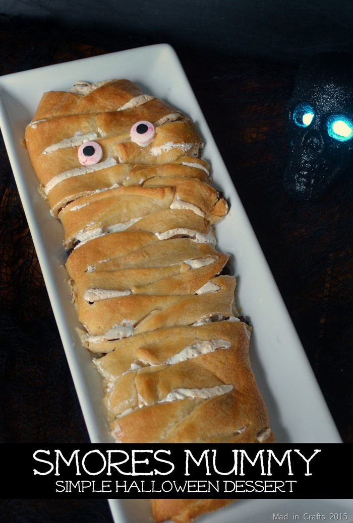 Smores Mummy Dessert